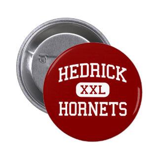 Hedrick - Hornets - Middle School - Medford Oregon Pinback Button