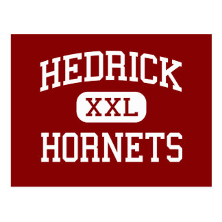 Hedrick - Hornets - Middle School - Medford Oregon Postcard