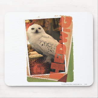 Hedwig 1 mouse pad