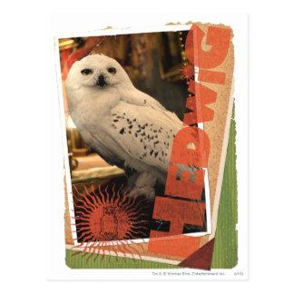 Hedwig 1 post card