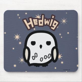 Hedwig Cartoon Character Art Mouse Pad