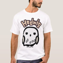 Hedwig Cartoon Character Art T-Shirt