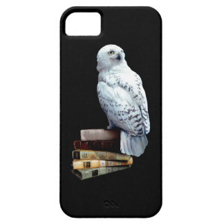 Hedwig on books iPhone 5 cases