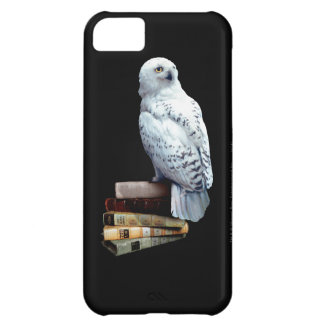 Hedwig on books iPhone 5C covers