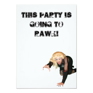 """Hedwig Party Invites 5"""" X 7"""" Invitation Card"""