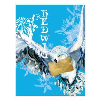Hedwig Tarjeta Postal