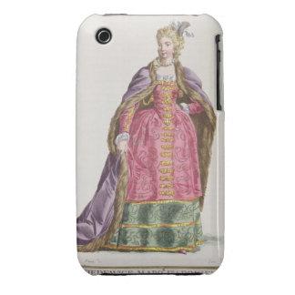 Hedwige, marqués d'Arquien (a 1373-99) reinas de iPhone 3 Case-Mate Cárcasas