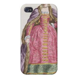 Hedwige, marqués d'Arquien (a 1373-99) reinas de p iPhone 4/4S Carcasas