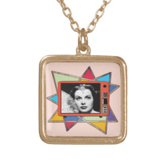 Hedy Lamarr Abstract Necklace