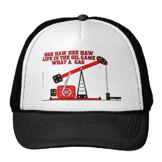 Hee Haw Hee Haw,Oil Field Cap,Hat, Trucker Hat