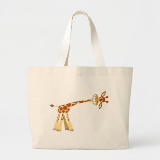 Hee Hee Hee!! cartoon giraffe bag