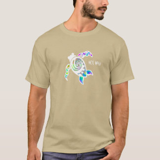 He'e Nalu (Surf's up) Front Turtle T-Shirt