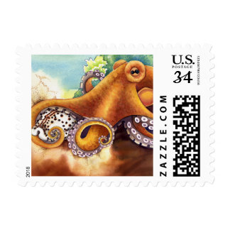 He'e (octopus) with Cowry Postage