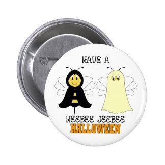 HeeBee JeeBee Halloween Button
