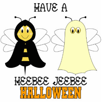 HeeBee JeeBee Halloween Ornament Acrylic Cut Out