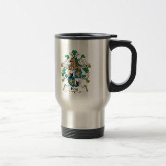 Heeg Family Crest Travel Mug