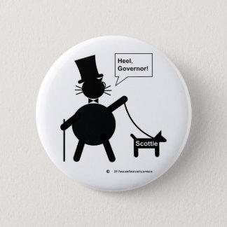 Heel Pinback Button