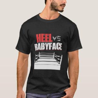Heel Vs Babyface Wrestling Ring Hardcore Fan Tee S