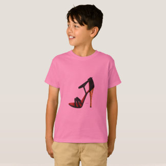 Heeled Evening Sandal Cotton Kids T-Shirt