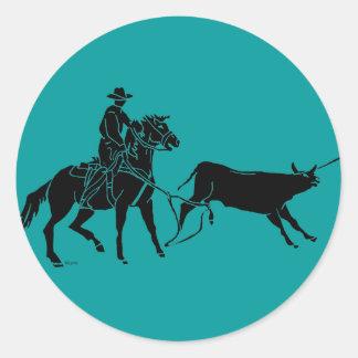 Heeler 100 classic round sticker