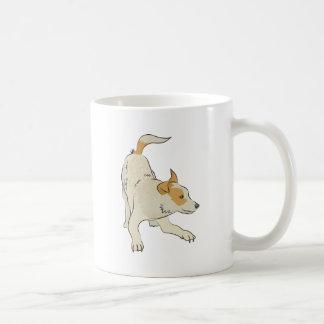 Heeler dog light tan so cute! coffee mugs