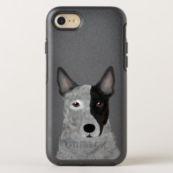 OtterBox Apple iPhone 7 Symmetry Case with Australian Cattle Dog Phone Cases design