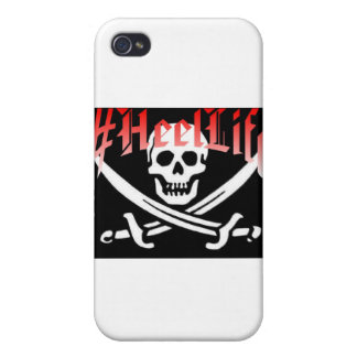 #HeelLife Skull Case For iPhone 4