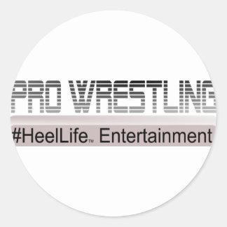 #HeelLife Round Sticker