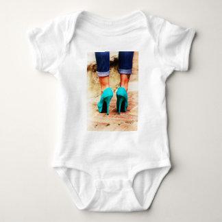 Heels of Fortune Baby Bodysuit