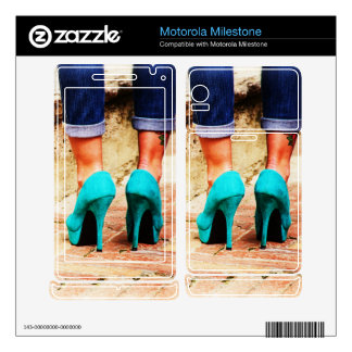 Heels of Fortune Motorola Milestone Skin