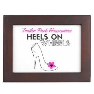 heels on wheels keepsake box