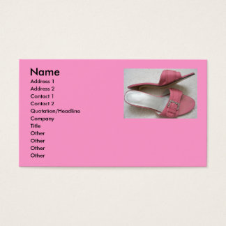 Heels Pink Business cards! Business Card