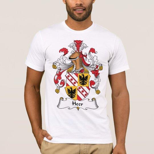 Heer Family Crest T-Shirt