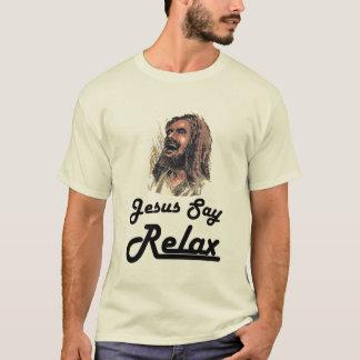 Hefty Gnar - Jesus Say Relax T-Shirt