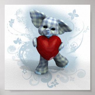 Hefty Heart ~ Boy Poster