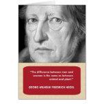 Hegel Anti-Valentine's Day Card