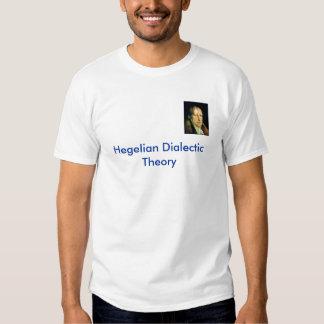 hegel, Hegelian Dialectic Theory Tee Shirt