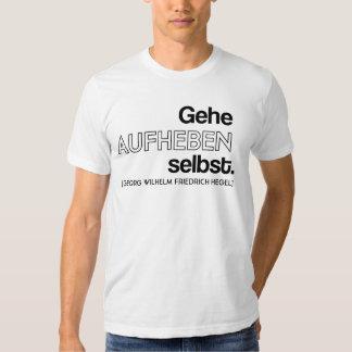 Hegel T Tee Shirt