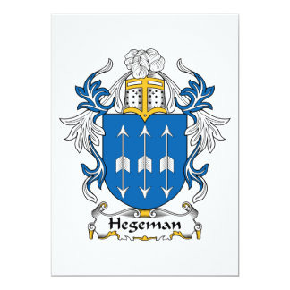 Hegeman Family Crest Card