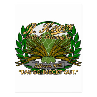 Heger Brewery Postcard