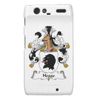 Hegge Family Crest Droid RAZR Cases