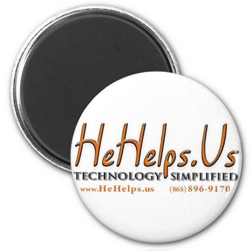 HeHelpsUs_Simplify Imán Para Frigorífico