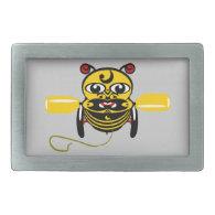 Hei Tiki Bee Toy Kiwiana Belt Buckles