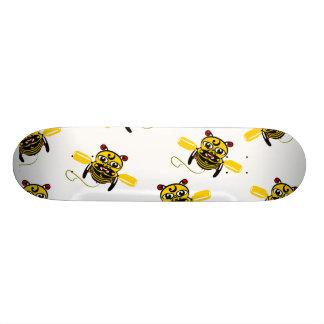 Hei Tiki Bee Toy Kiwiana Custom Skateboard