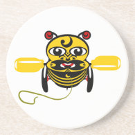 Hei Tiki Bee Toy Kiwiana Drink Coasters