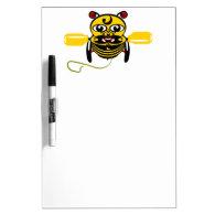 Hei Tiki Bee Toy Kiwiana Dry-Erase Whiteboard