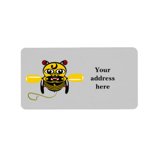 Hei Tiki Bee Toy Kiwiana Label