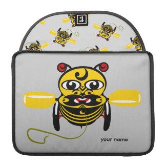 Hei Tiki Bee Toy Kiwiana Sleeve For MacBooks