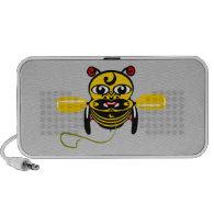 Hei Tiki Bee Toy Kiwiana Mini Speakers
