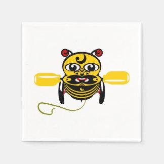 Hei Tiki Bee Toy Kiwiana Paper Napkin